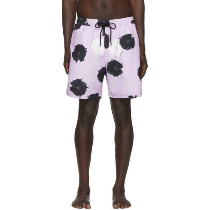 Saturdays NYC Maillot de bain mauve Timothy Moon Flower