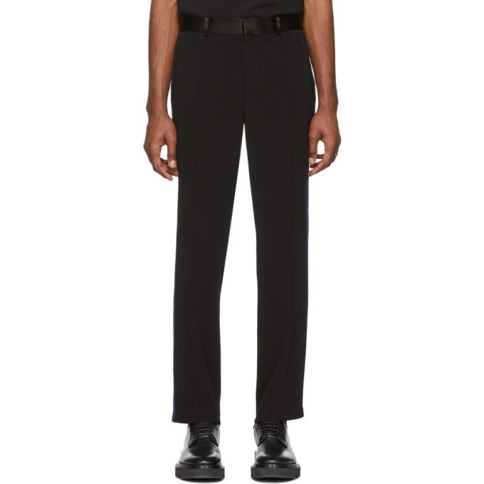 Coach 1941 Pantalon de survetement noir et bleu marine
