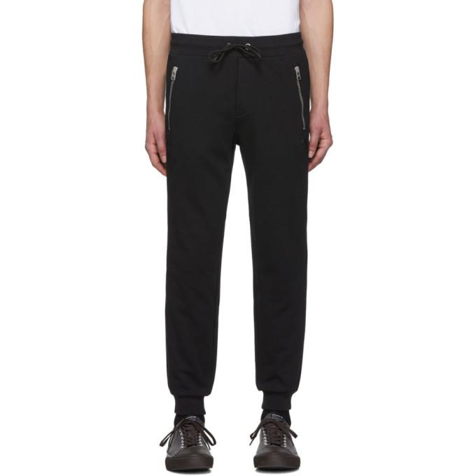 Coach 1941 Pantalon de survetement en jersey bouclette noir