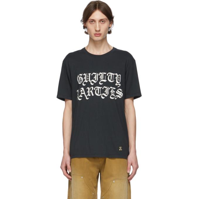 Wacko Maria T-shirt noir Guilty Parties