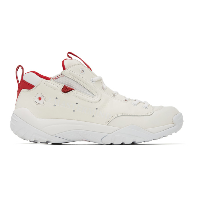 mastermind WORLD Baskets blanches et rouges Rival MMJ edition Gravis