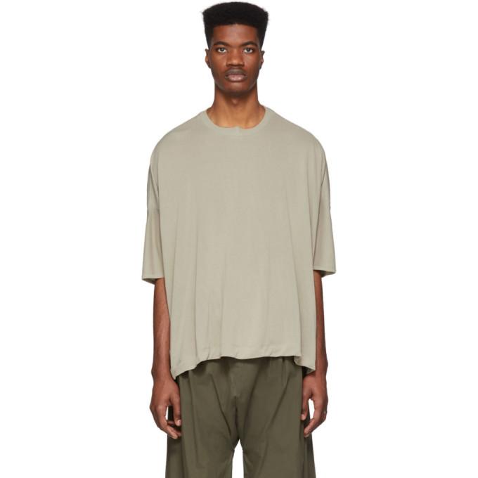 Jan-Jan Van Essche T-shirt en jersey de washi beige