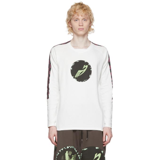Kiko Kostadinov T-shirt graphique blanc Orpheus