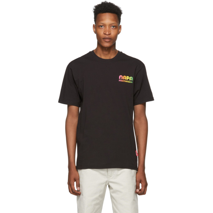 NAPA by Martine Rose T-shirt noir Fly