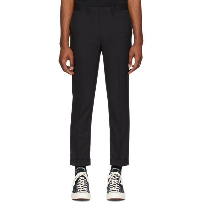 N.Hoolywood Pantalon noir Classic
