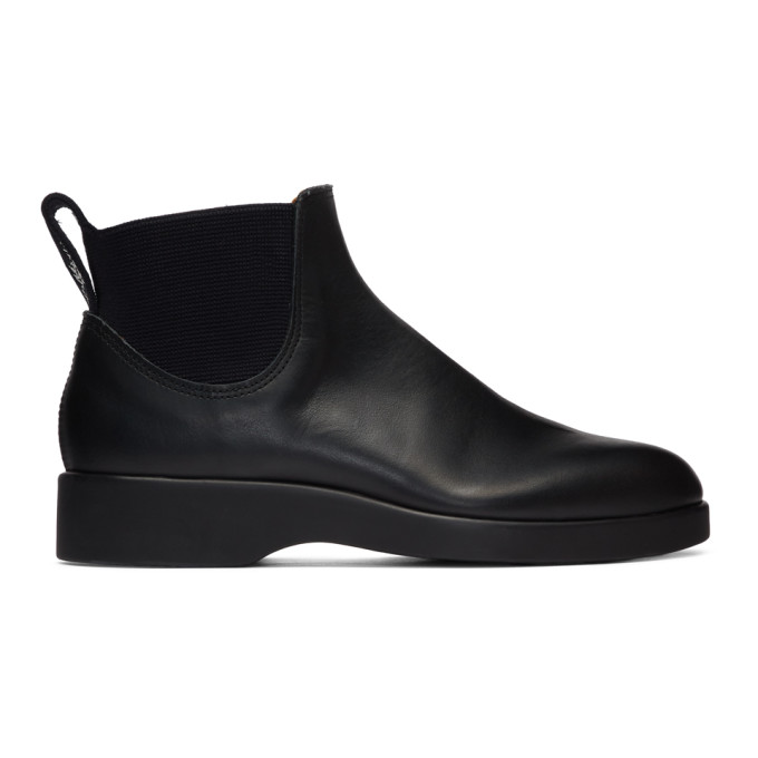 R.M. Williams Bottes noires 365 Yard edition Marc Newson