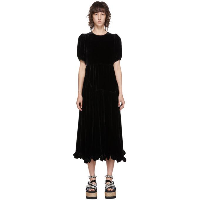 Cecilie Bahnsen Robe noire Myrleen