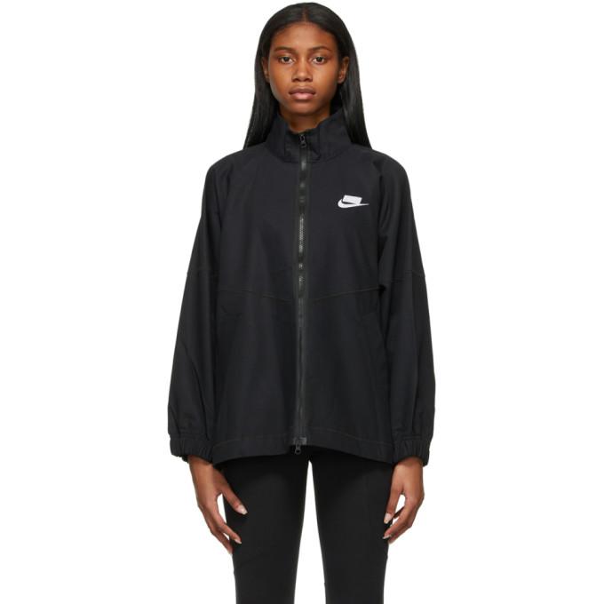 Nike Nike Black Woven Sportswear Jacket