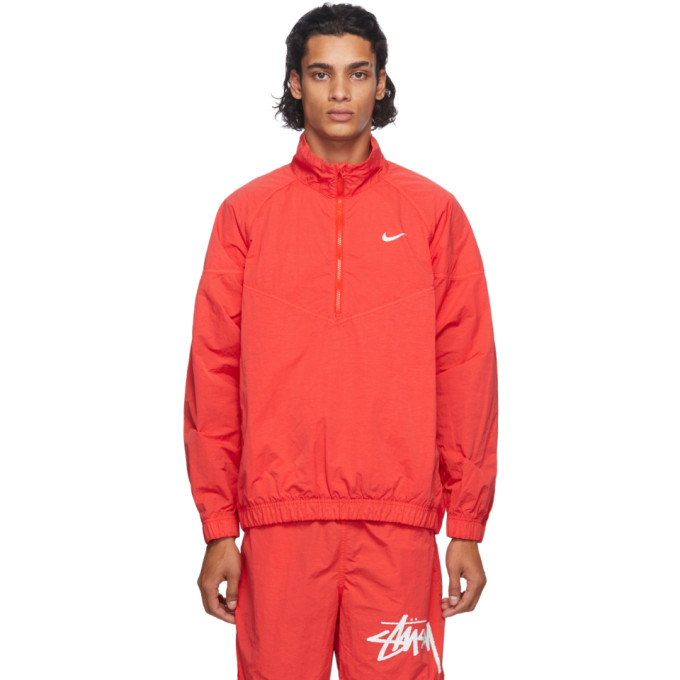Nike Nike Red Stussy Edition NRG Windrunner Jacket