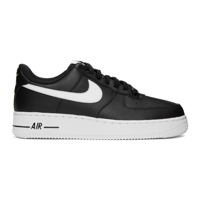 NIKE NIKE BLACK AND WHITE AIR FORCE 1 07 SNEAKERS