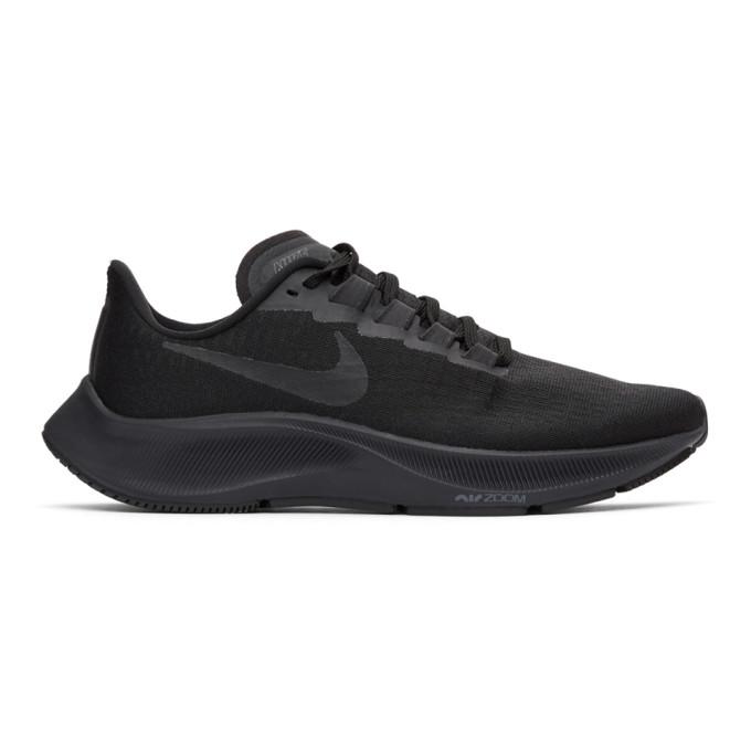 Nike Men's Air Zoom Pegasus 37 Running Sneakers From Finish Line In 005 Black/b