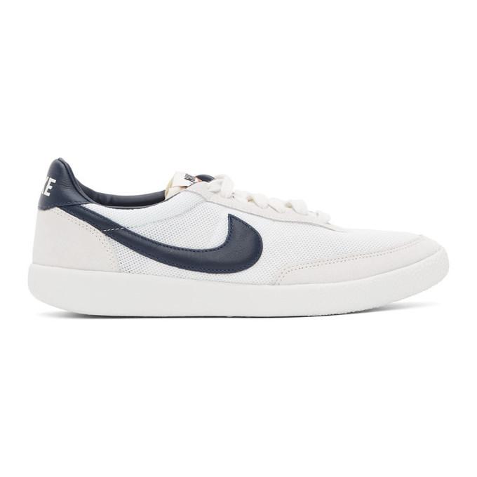 Nike NIKE OFF-WHITE AND NAVY KILLSHOT OG SNEAKERS