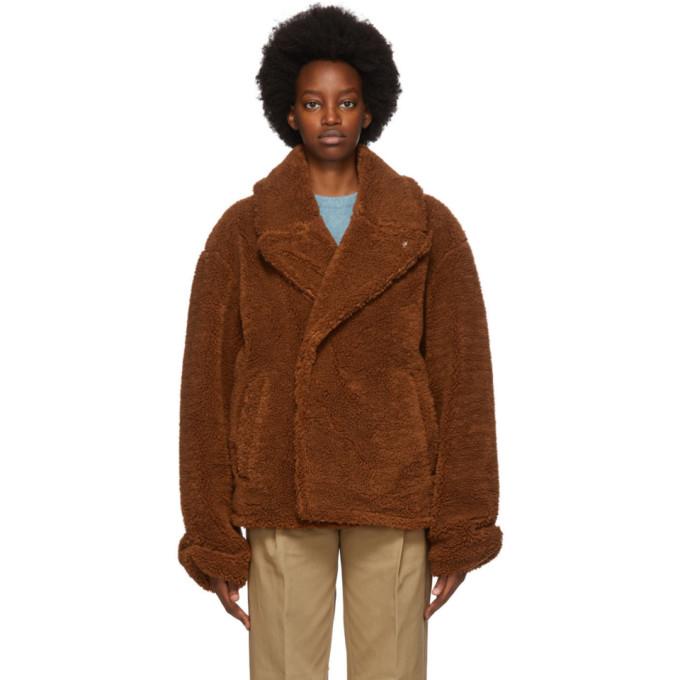 ADER error ADER error Brown Fleece Callcid Jacket