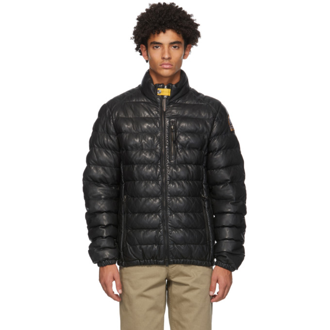 Parajumpers Black Ernie Jacket In 541 Black