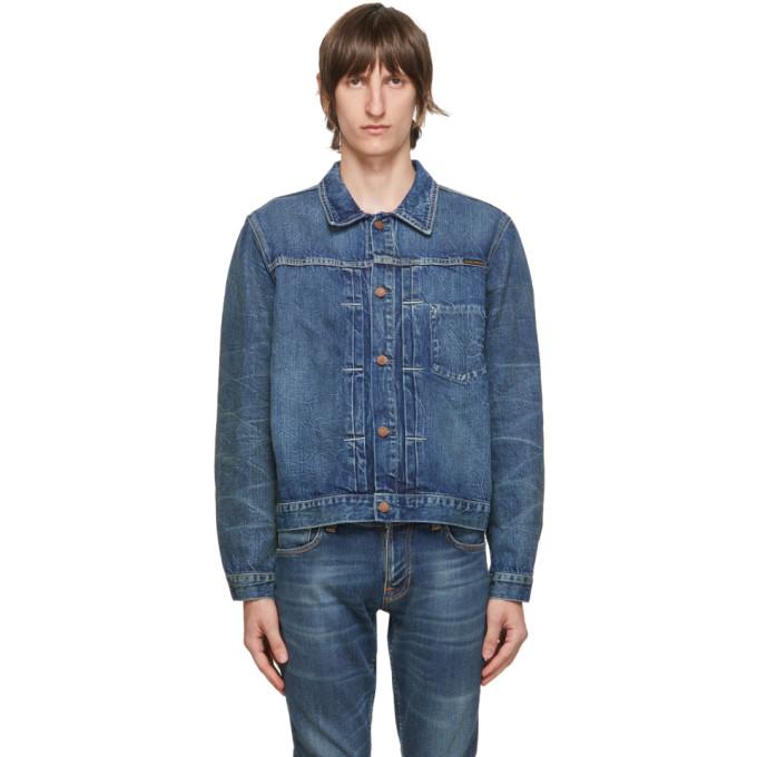 Nudie Jeans NUDIE JEANS BLUE VINNY DENIM JACKET