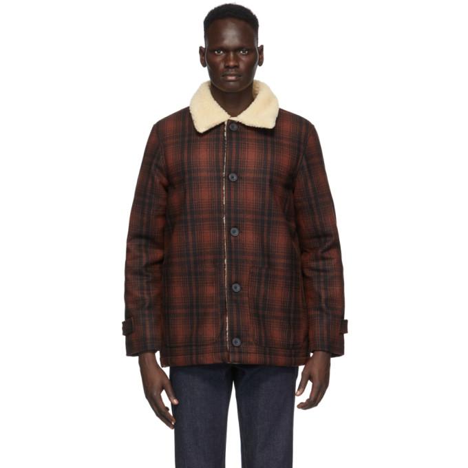 Nudie Jeans Nudie Jeans Red Mangan Lumber Jacket