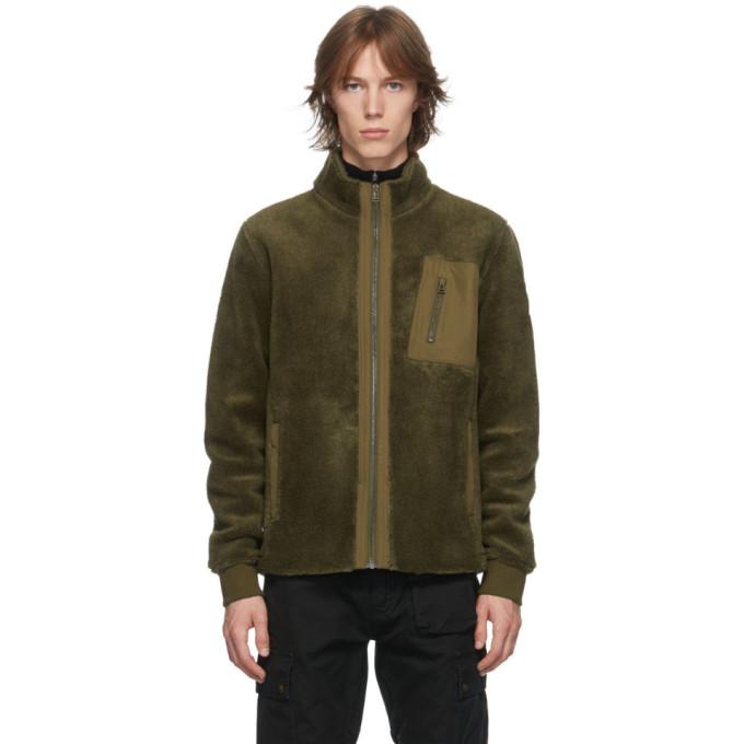Belstaff Belstaff Khaki Fleece Herne Jacket