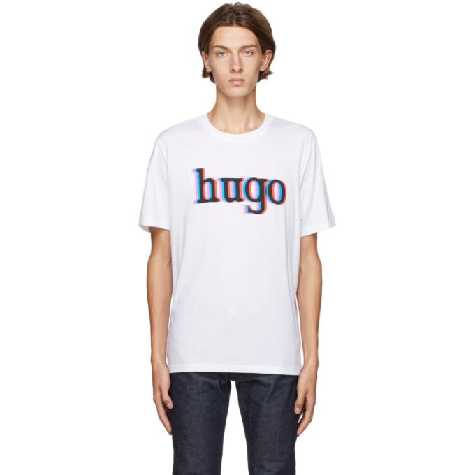 Hugo HUGO WHITE DONTROL T-SHIRT