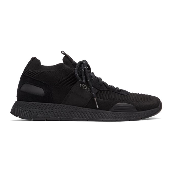 Boss Baskets noires Titanium Running