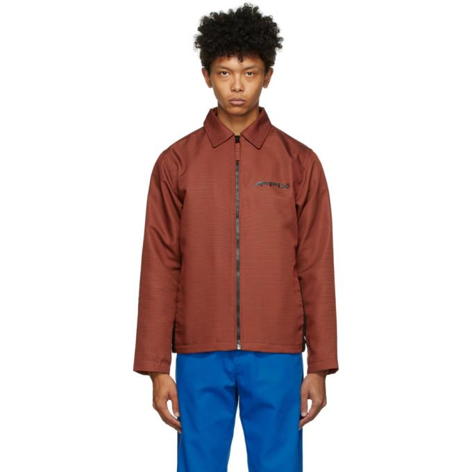 Affix Affix Orange Visibility Coach Jacket