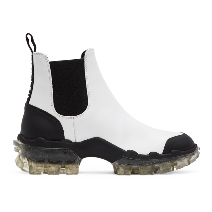 Moncler 白色 Hanya 切尔西靴