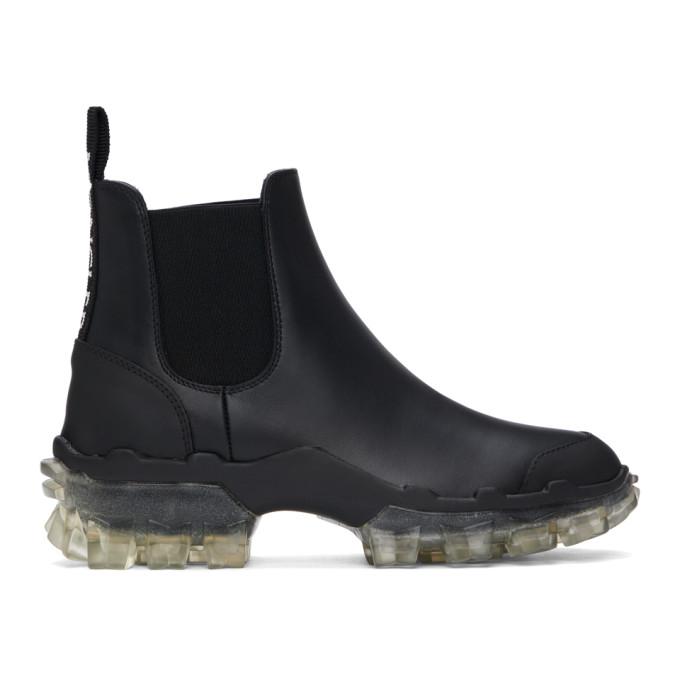 Moncler 黑色 Hanya 切尔西靴