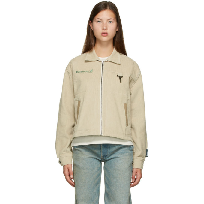Reese Cooper Reese Cooper Off-White Corduroy Hunting Division Jacket