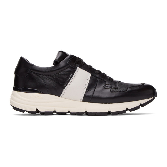 SSENSE Exclusive Black Saarinen Low Sneakers