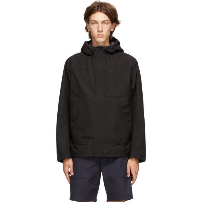 Norse Projects Norse Projects Black Gore-Tex® Fyn Shell 2.0 Jacket