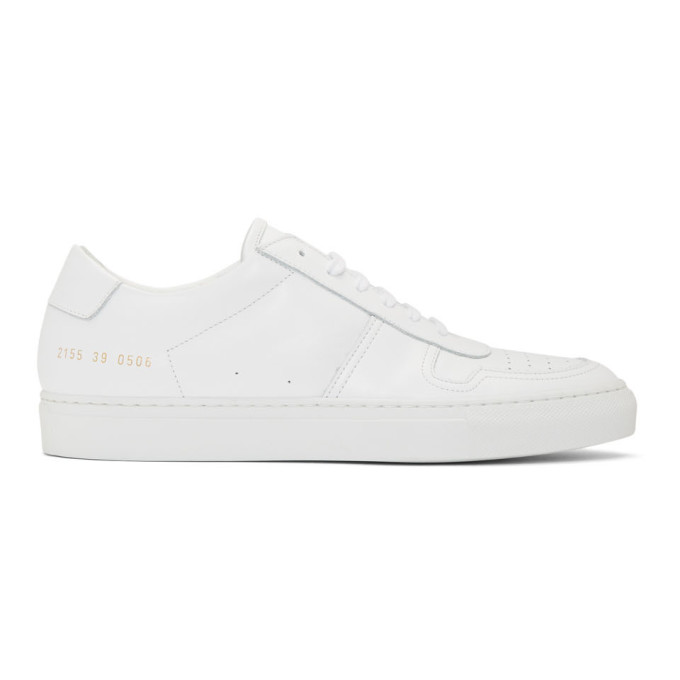 Common Projects COMMON PROJECTS WHITE BBALL LOW SNEAKERS