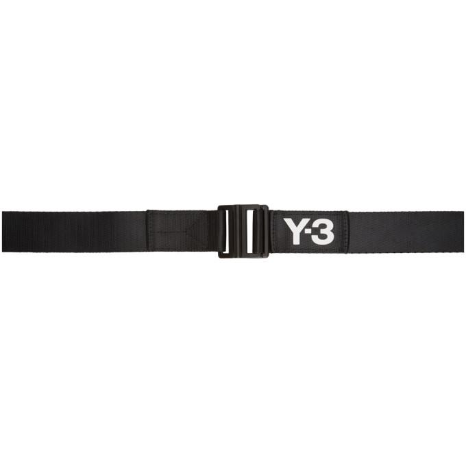 Y-3 Y-3 BLACK CLASSIC LOGO BELT