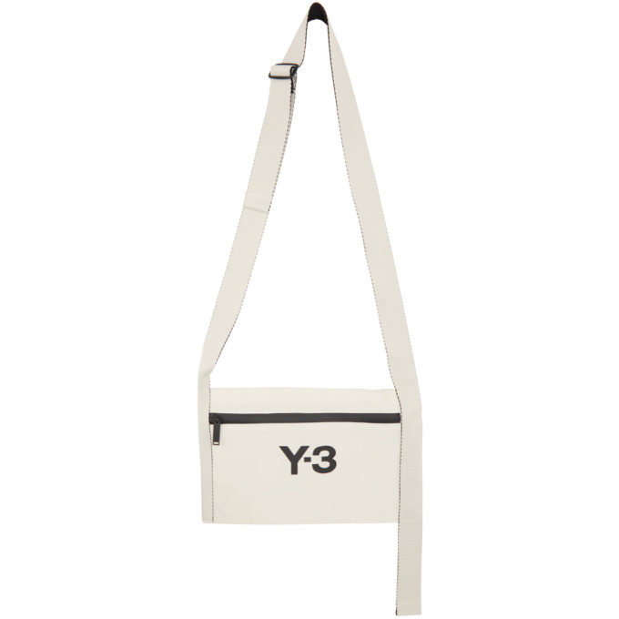 Y-3 Y-3 WHITE CH3 SACOCHE MESSENGER BAG
