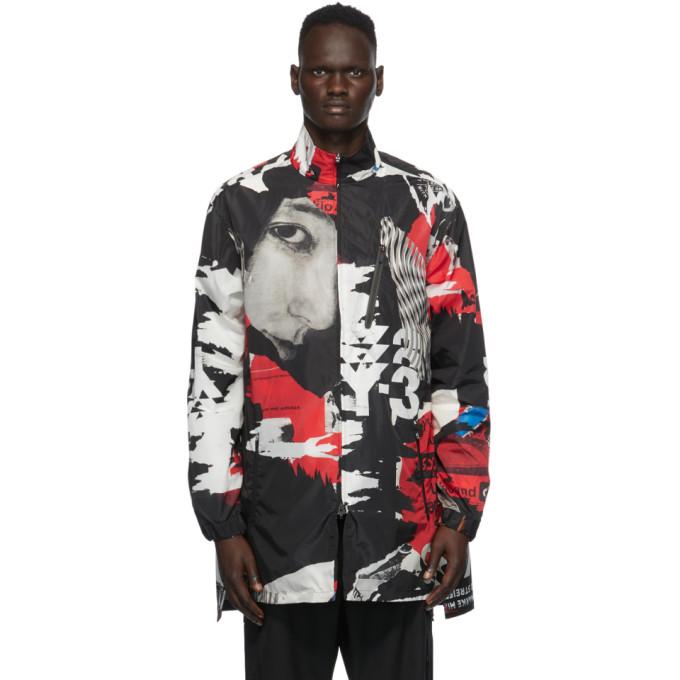Y-3 Y-3 Multicolor CH1 Allover Print Long Jacket