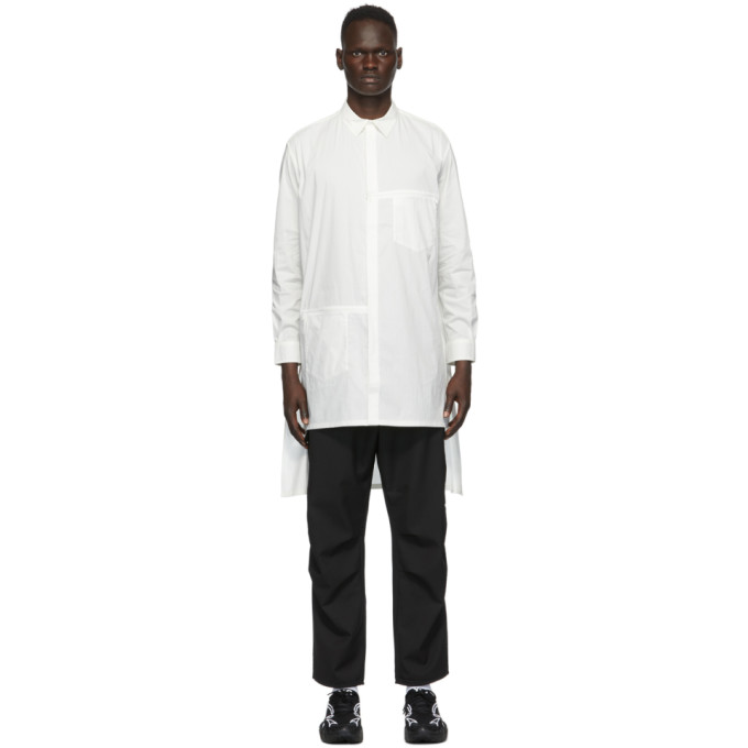Y-3 Chemise longue blanche Classic