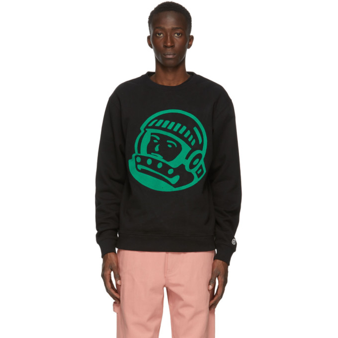Billionaire Boys Club BILLIONAIRE BOYS CLUB BLACK EMBROIDERED ASTRO SWEATSHIRT