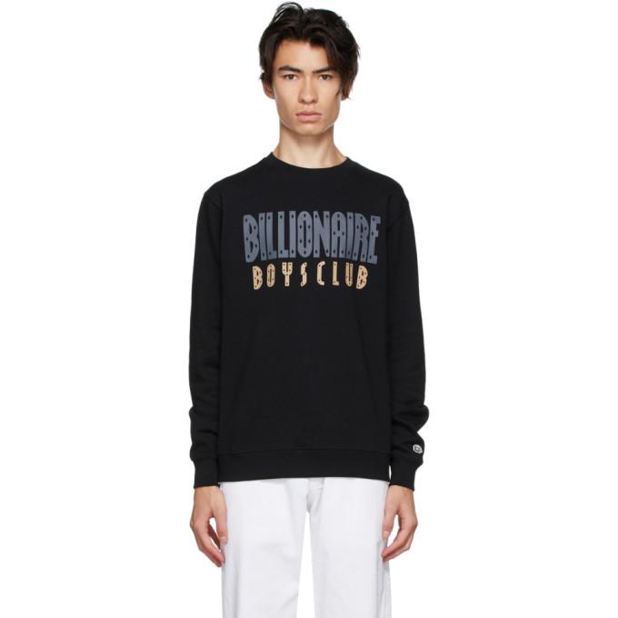 Billionaire Boys Club Pull molletonne noir Straight Logo