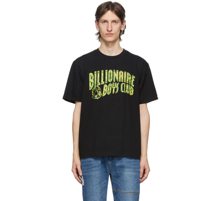 Billionaire Boys Club Black Arch Logo T-Shirt