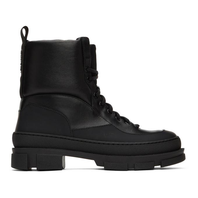 GANNI Black Hiking Boots