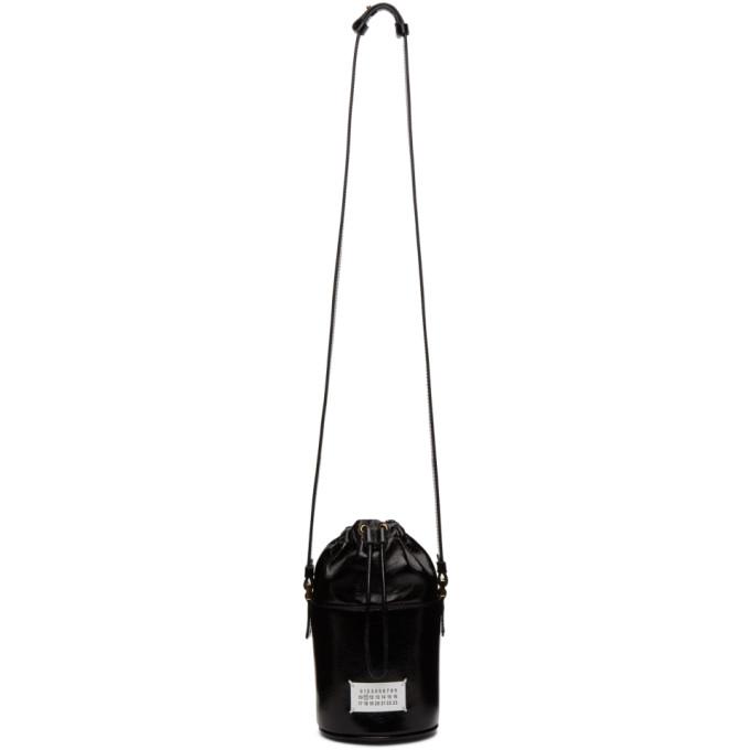 Maison Margiela ブラック Micro 5AC バケット バッグ