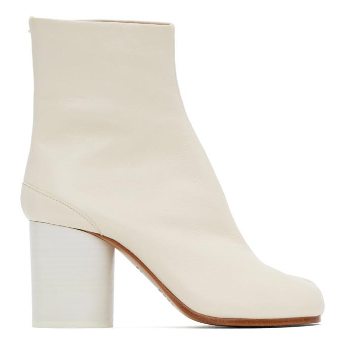 ホワイト Tabi 足袋 ブーツ
