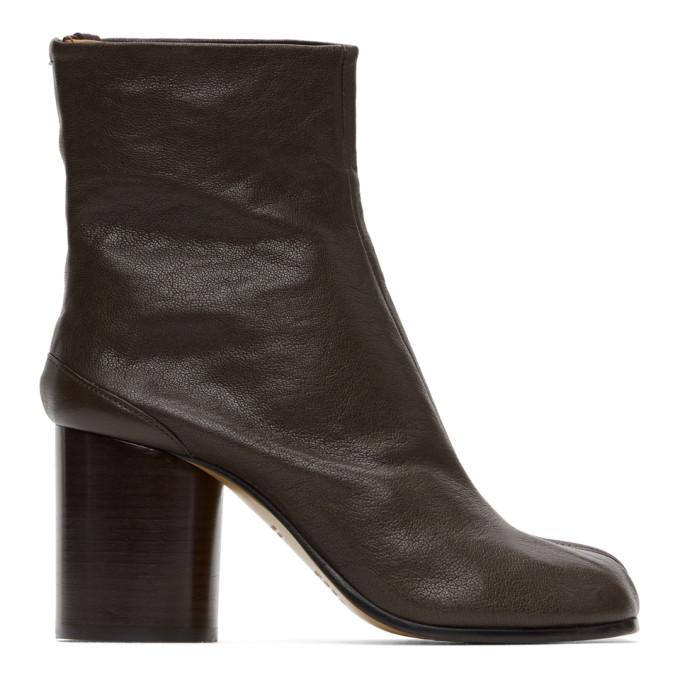 ブラウン Tabi 足袋 ブーツ