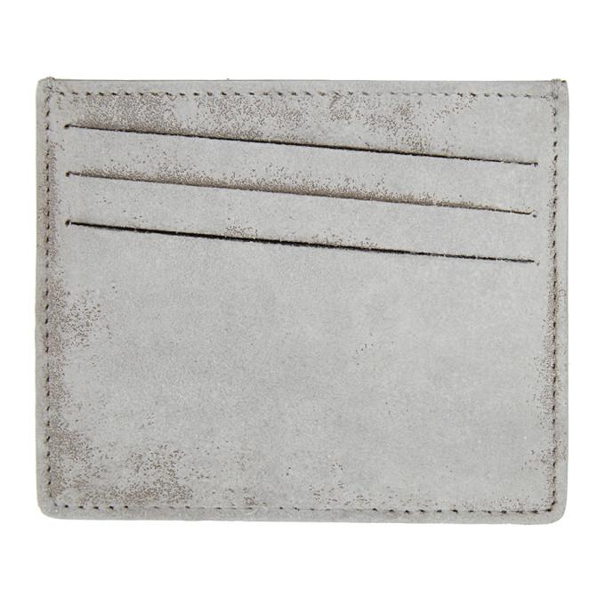 Maison Margiela MAISON MARGIELA WHITE 4-STITCHES CARD HOLDER