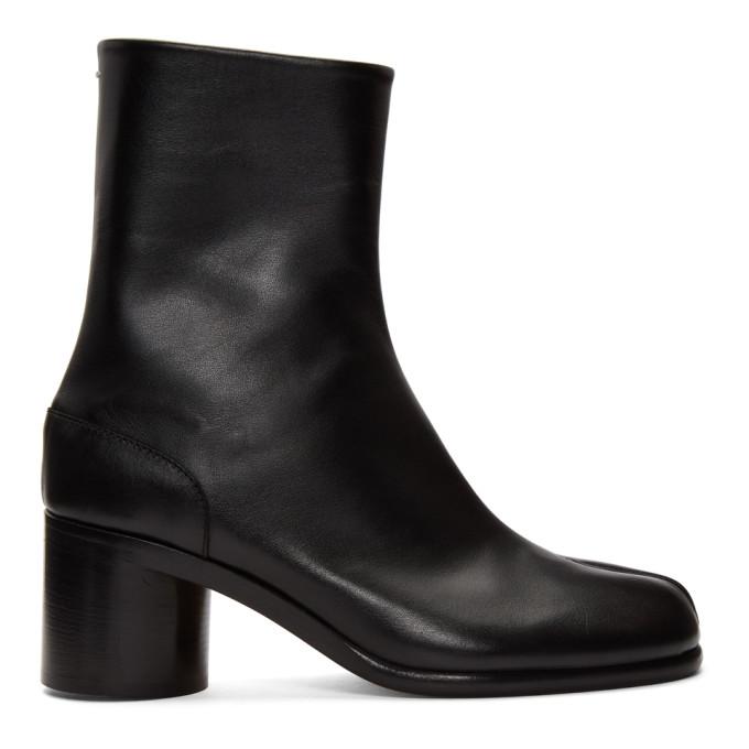 ブラック Tabi 足袋 ブーツ
