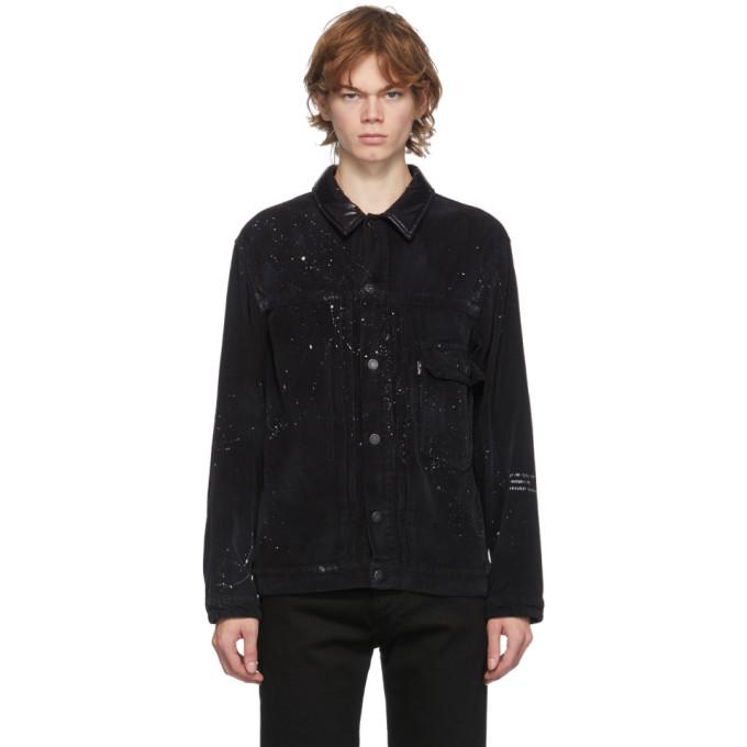 Moncler Genius Moncler Genius 7 Moncler Fragment Hiroshi Fujiwara Black Graphic Jacket