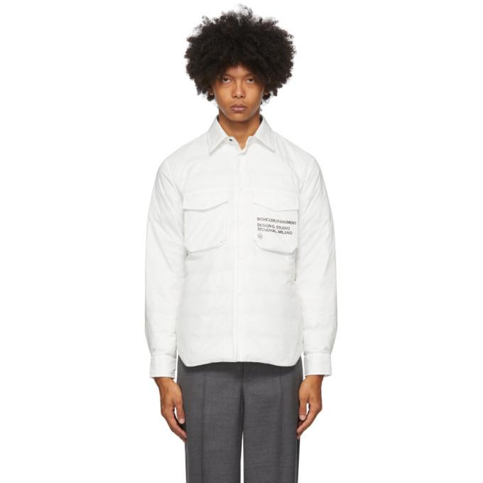 Moncler Genius Moncler Genius 7 Moncler Fragment Hiroshi Fujiwara White Mazen Jacket