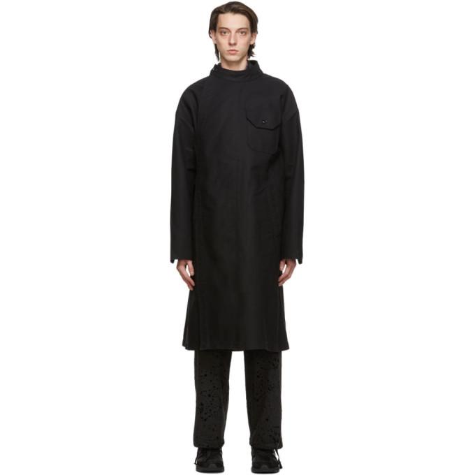 Engineered Garments ブラック Double Cloth MG コート