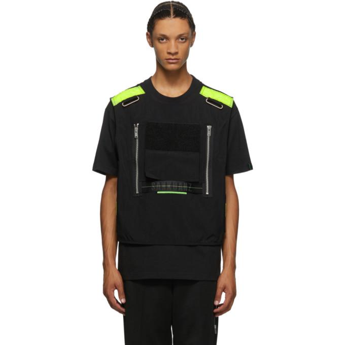 Sankuanz Black Vest T-shirt