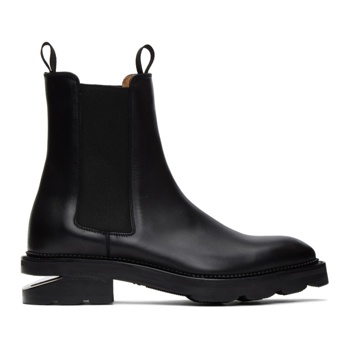Black Andy Box Chelsea Boots