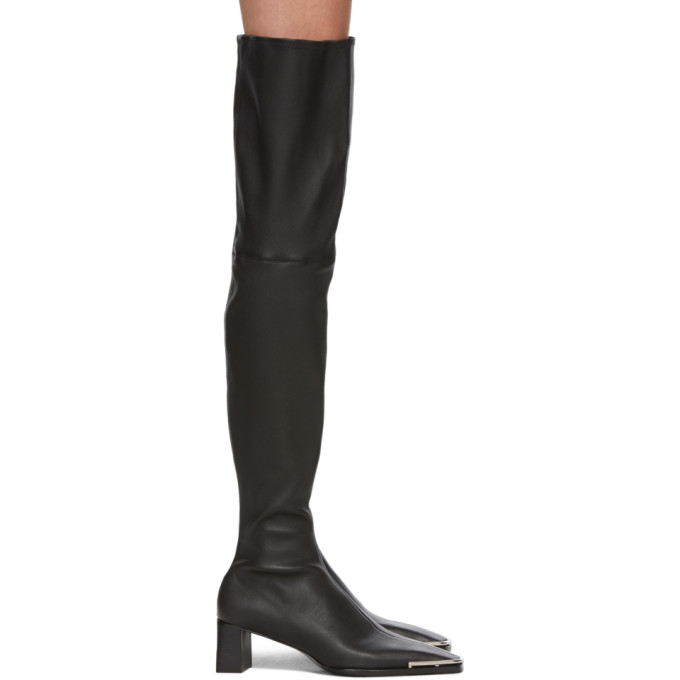 Alexander Wang Bottes cuissardes noires Over-The-Knee Mascha