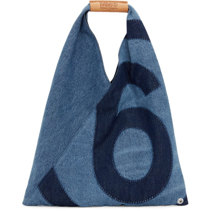 Mm6 Maison Margiela MM6 MAISON MARGIELA BLUE DENIM SMALL JAPANESE TOTE